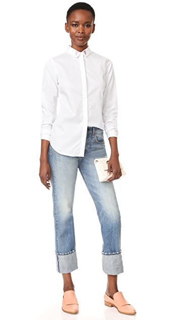 Maison Labiche Coeur Brise Button Down Shirt