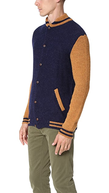 Monsieur Lacenaire Teddy Cardigan