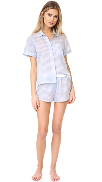 Morgan Lane Teddy PJ Shorts