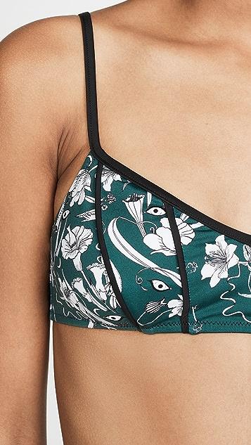 Morgan Lane x Chloe Gosselin Luna Bikini Top