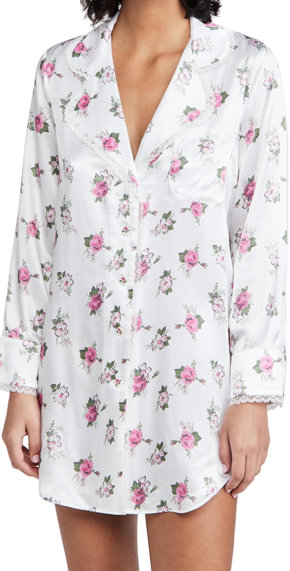 Morgan Lane x Love Shack Fancy Stacy Night Shirt