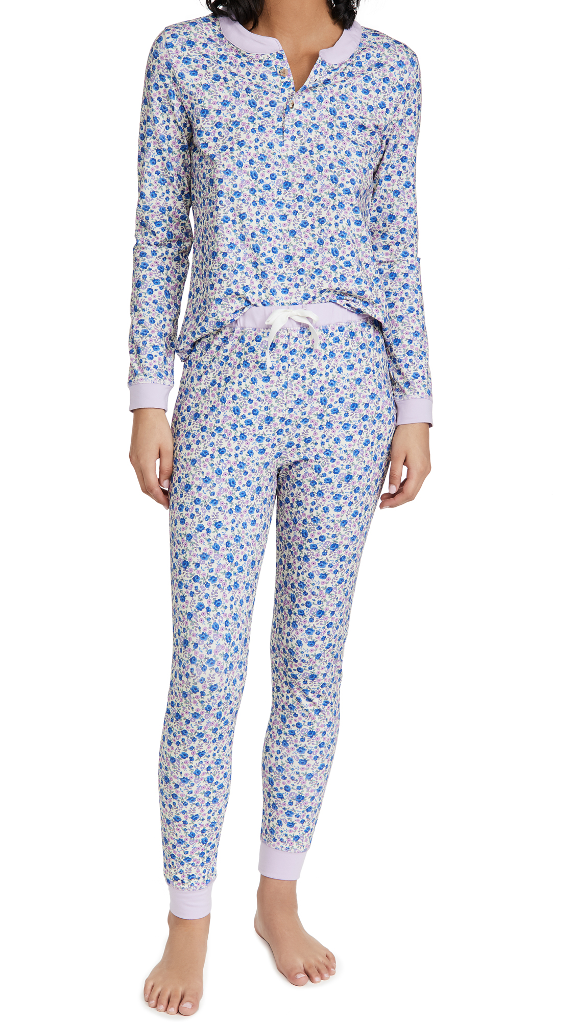 Morgan Lane x LOVESHACKFANCY Kaia PJ Set