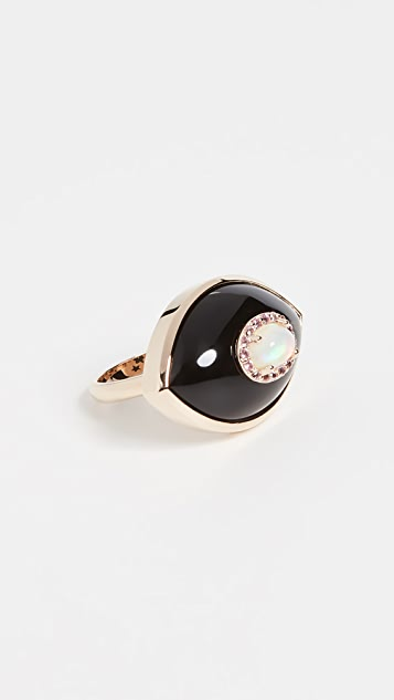 Marlo Laz 14k Yellow Gold Iris Ring
