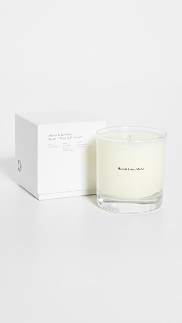 Maison Louis Marie No.06 Neige de Printemps Candle