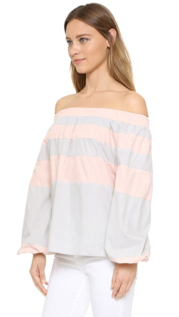 MLM LABEL Afar Off Shoulder Top