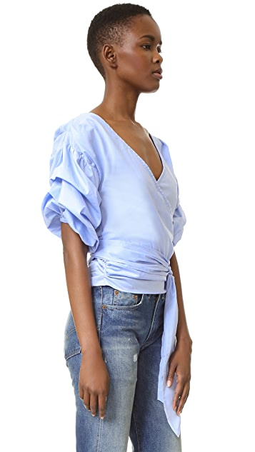 MLM LABEL Salo Wrap Shirt