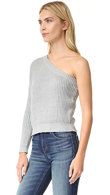 MLM LABEL Asymetrical Knit Top