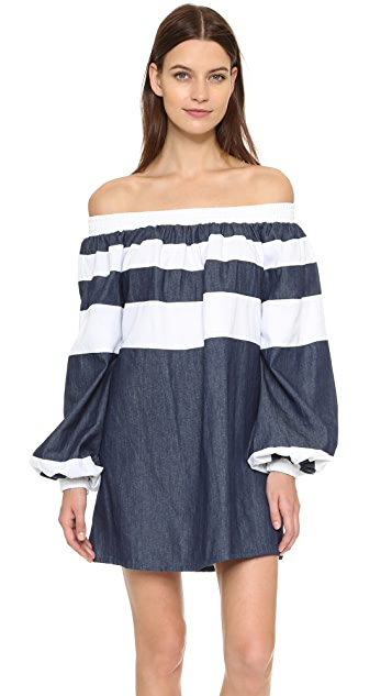 MLM LABEL Afar Off the Shoulder Dress