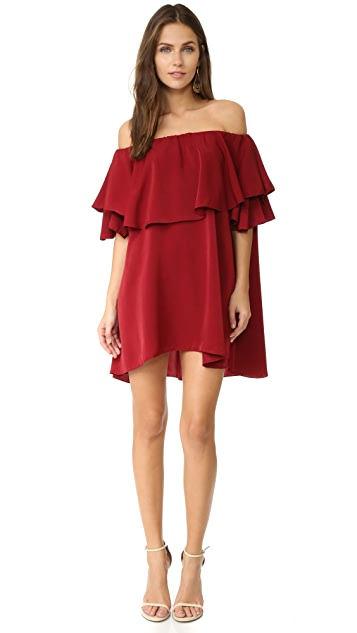 MLM LABEL Maison Off Shoulder Dress
