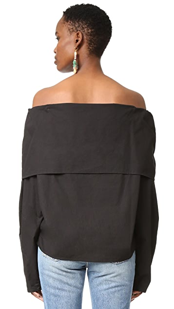 MLM LABEL Storm Shoulder Top