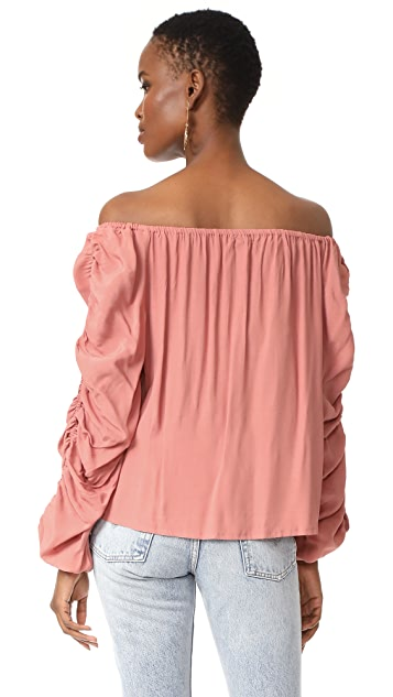 MLM LABEL Atlantic Off Shoulder Top