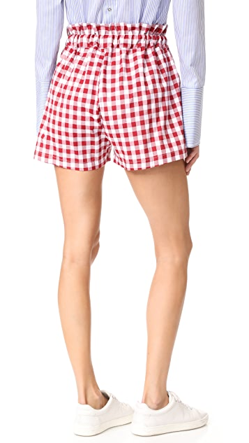 MLM LABEL Sahara Tie Shorts