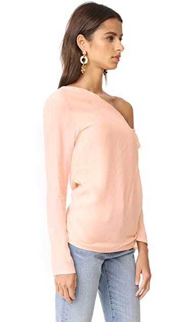 MLM LABEL Asymmetrical Jude Top