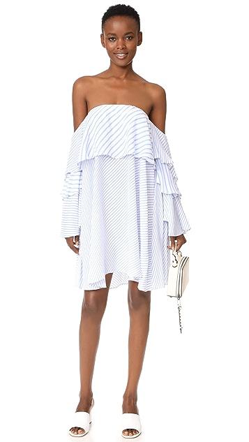 MLM LABEL Mesa Off Shoulder Dress