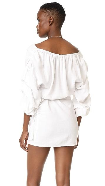 MLM LABEL Salo Wrap Dress