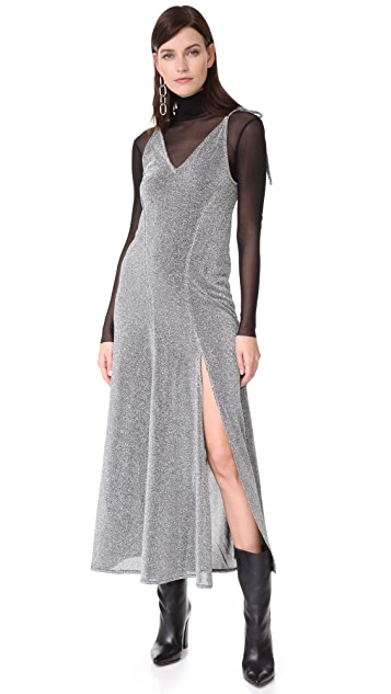 MLM LABEL Miami Tie Slip Dress