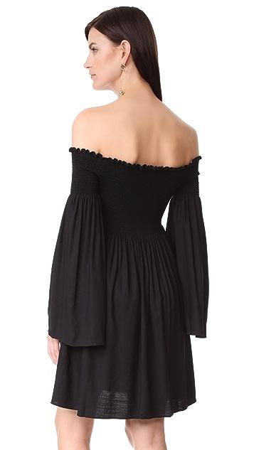 MLM LABEL Portland Off Shoulder Dress