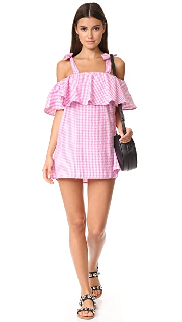 MLM LABEL Tobin Ruffle Dress