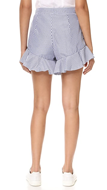 MLM LABEL Jett Ruffle Shorts