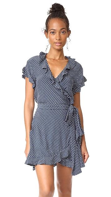 MLM LABEL Indra Wrap Dress