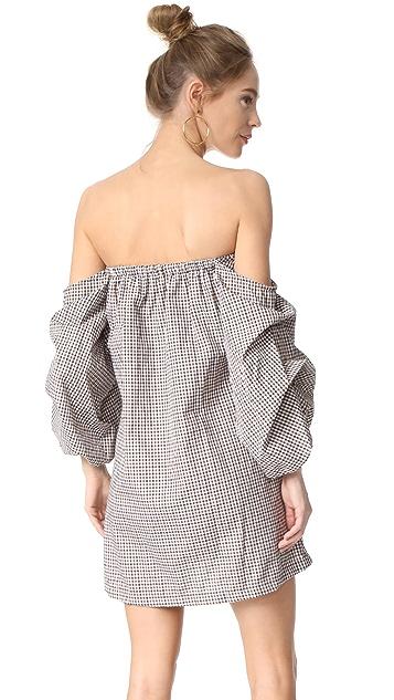 MLM LABEL Pillar Shoulder Mini Dress