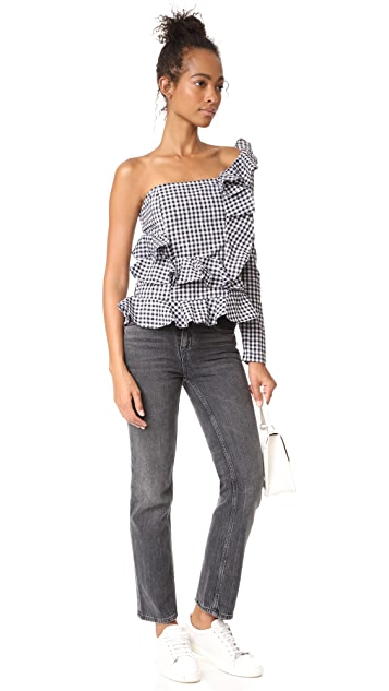 MLM LABEL River Ruffle Top