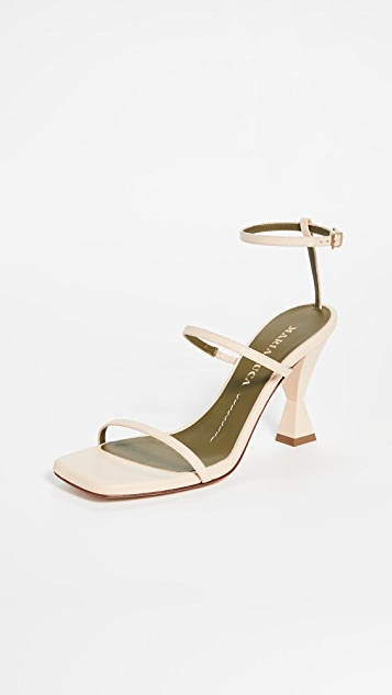 Maria Luca Square Toe Sandals