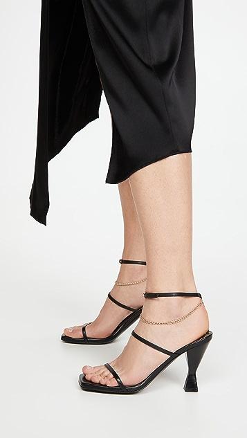 Maria Luca Square Toe Sandals