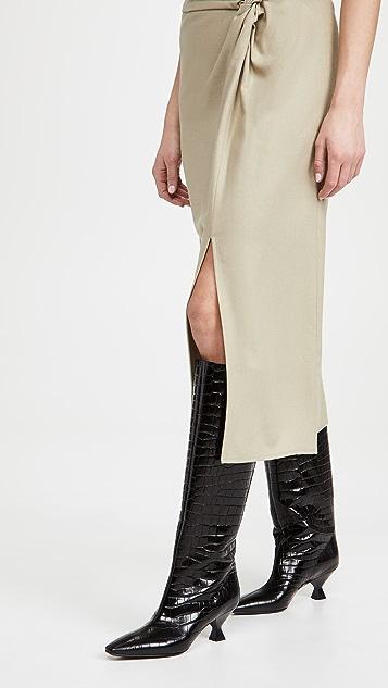 Maria Luca 及膝靴