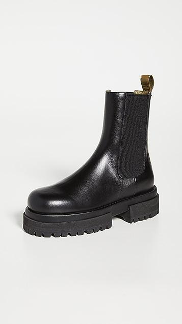Maria Luca 沟纹鞋底靴子