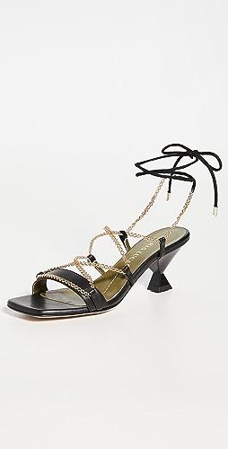 Maria Luca - Bella 系带凉鞋