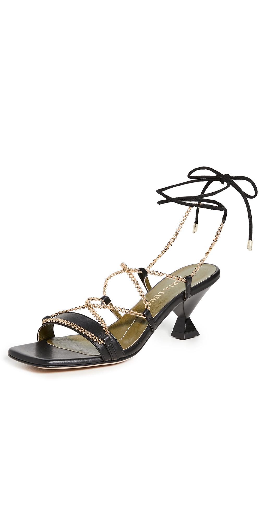 Bella Lace Up Sandals