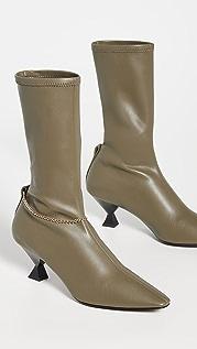 Maria Luca Mid Calf Boots