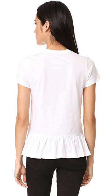 Markus Lupfer Mini Double Heart Torunn Tee