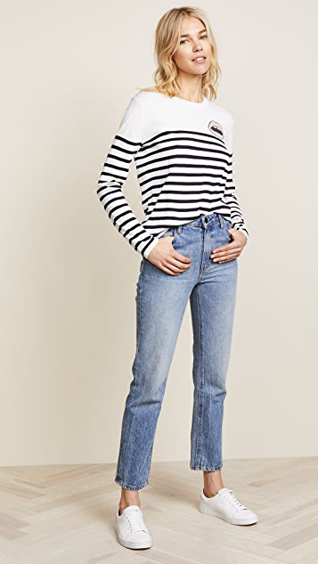 Markus Lupfer Mini Lip Breton Stripe Natalie Sweater