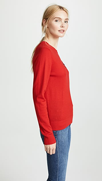 Markus Lupfer Tracey Lip Pullover