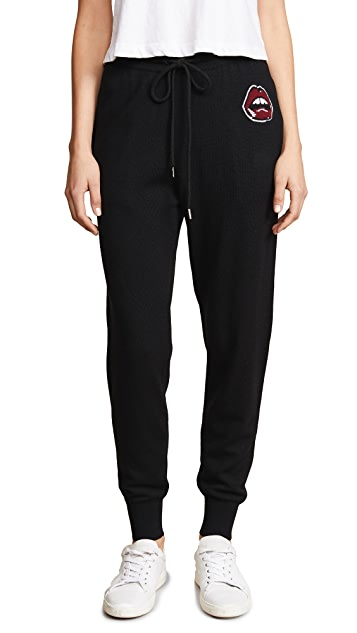 Markus Lupfer Painted Lip Joggers