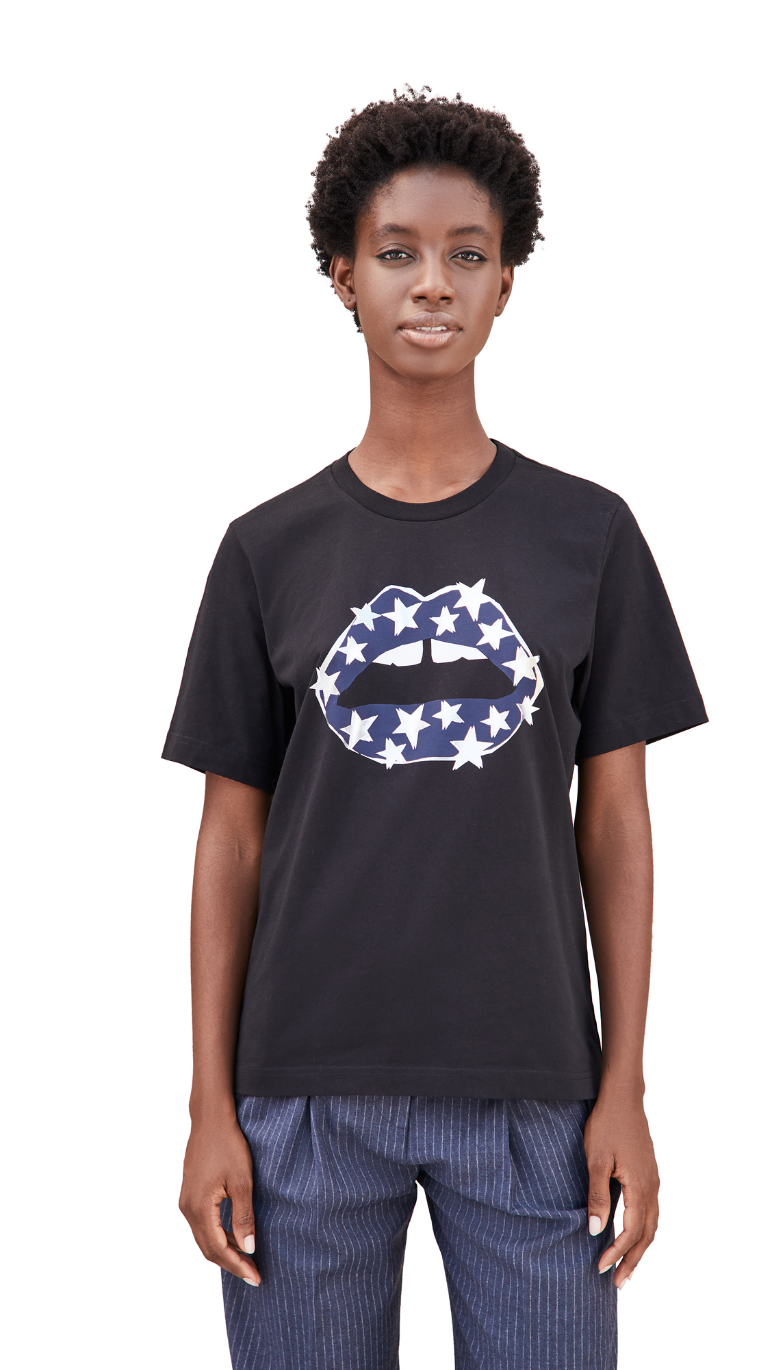 Markus Lupfer Alex Starry Lip Tee