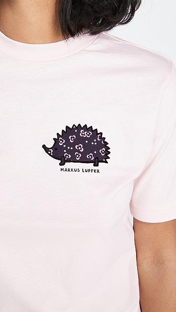 Markus Lupfer Nicola Hedgehog Tee