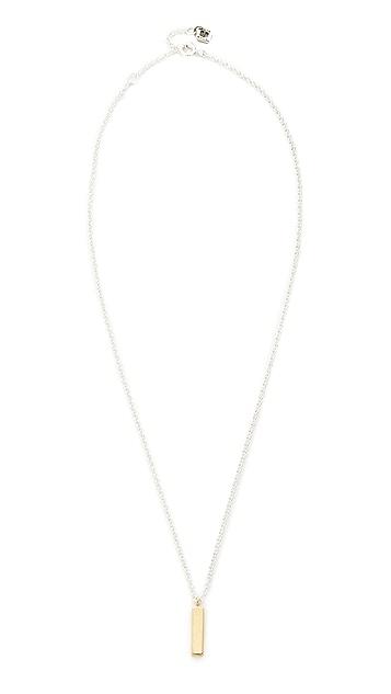 Maya Magal Bar Charm Necklace