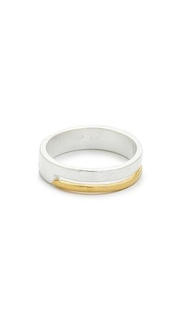 Maya Magal Stripe Round Ring