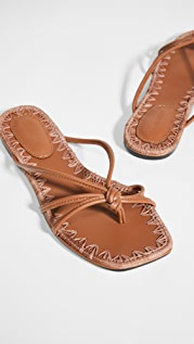 Mara & Mine Azeline Flat Sandals