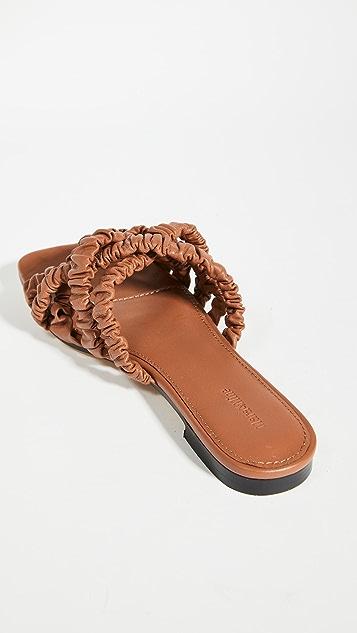 Mara & Mine Theresa Scrunchie Sandals