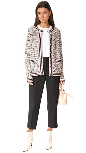 M Missoni Tweed Cardigan Jacket