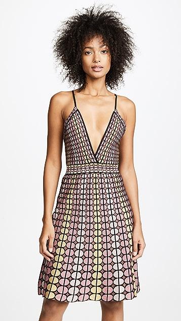 M Missoni Keyhole Halter Dress