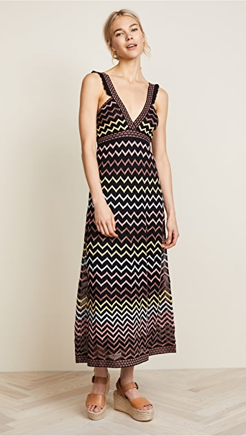 M Missoni V Neck Dress