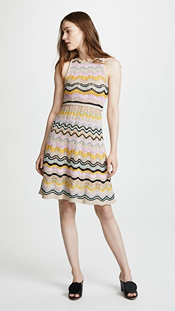 M Missoni Printed Cocktail Dress