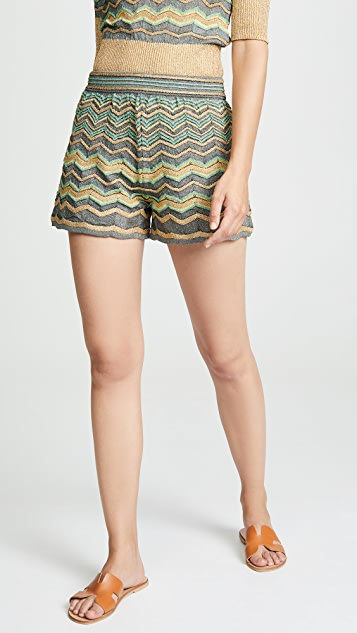 82ecfe2080 M Missoni Pull On Shorts | SHOPBOP