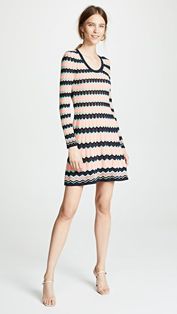 M Missoni Scoop Neck Dress