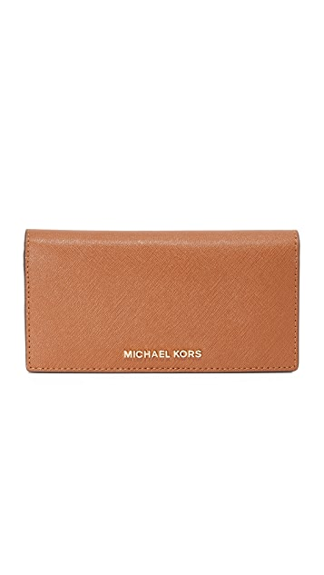 e54ed2942fb8 MICHAEL Michael Kors Jet Set Travel Large Slim Wallet | SHOPBOP